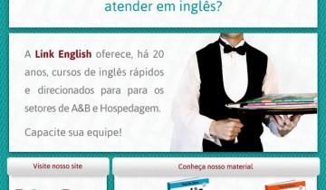 Anúncio Link English