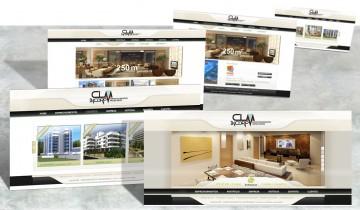 site CLM Incorporadora